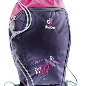 Deuter Sneaker Bag lasten lenkkarireppu liila perhonen