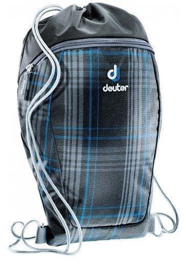 Deuter Sneaker Bag lasten lenkkarireppu mustaruudullinen