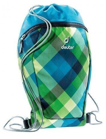 Deuter Sneaker Bag lasten lenkkarireppu sinivihreä