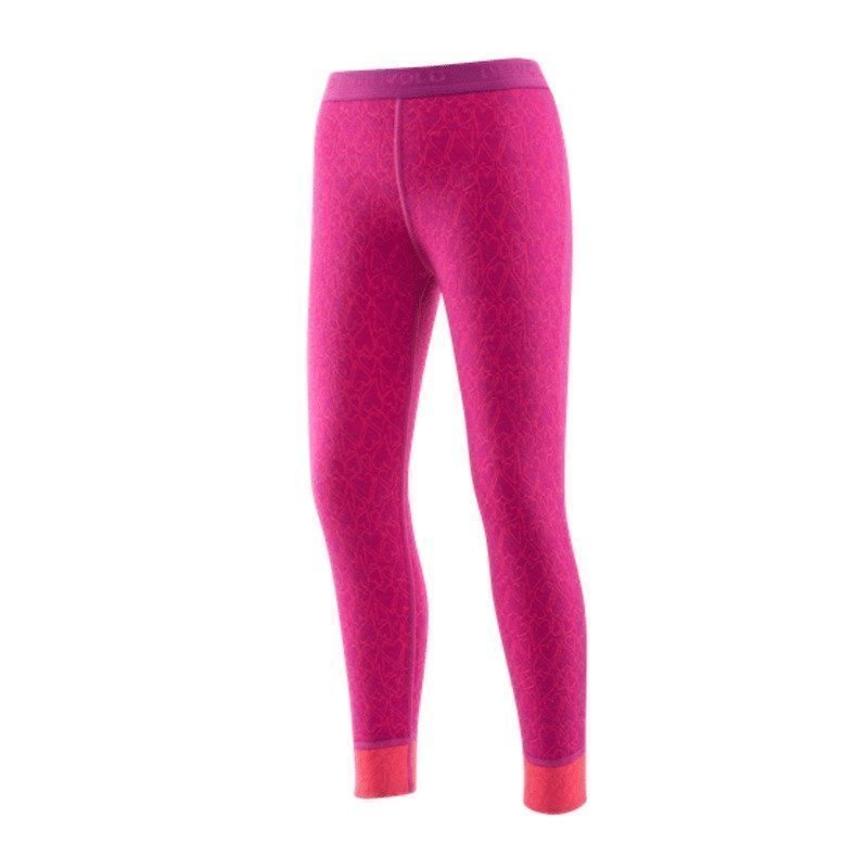 Devold Active Happy Face Kid Long Johns 4 Orchid