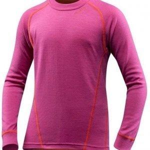 Devold Active Kid Shirt Fuksia 2