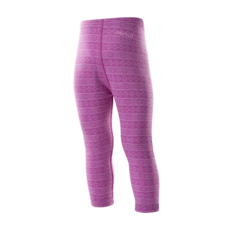 Devold Alnes Baby Long Johns 74 Anemone