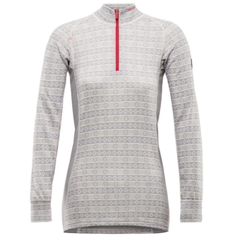 Devold Alnes Woman Half Zip Neck XL Grey