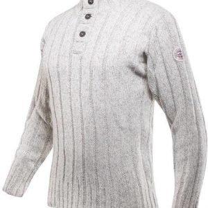 Devold Amundsen Button Neck Luonnonvalkoinen XL