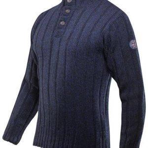 Devold Amundsen Button Neck tummansininen S