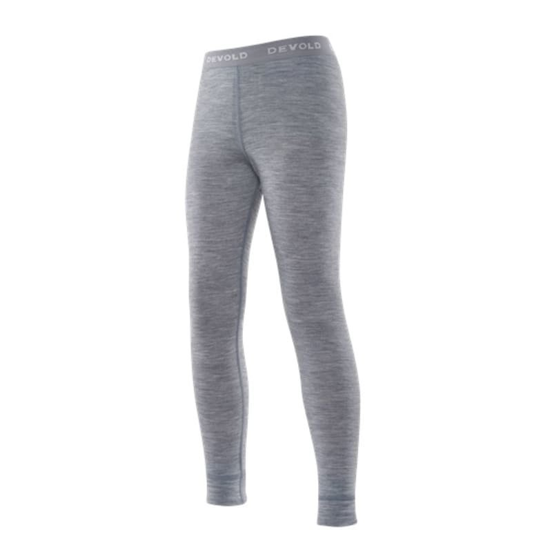 Devold Breeze Junior Long Johns 10 Grey Melange