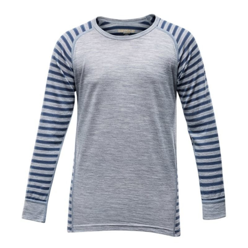 Devold Breeze Junior Shirt 10 Night Stripes