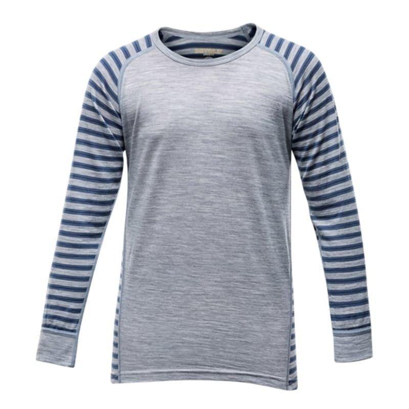 Devold Breeze Junior Shirt 10 Night Stripes