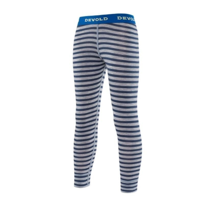 Devold Breeze Kid Long Johns 8 Night Stripes