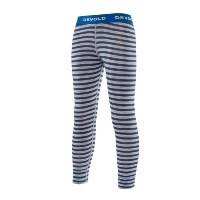 Devold Breeze Kid Long Johns 8 Night Stripes