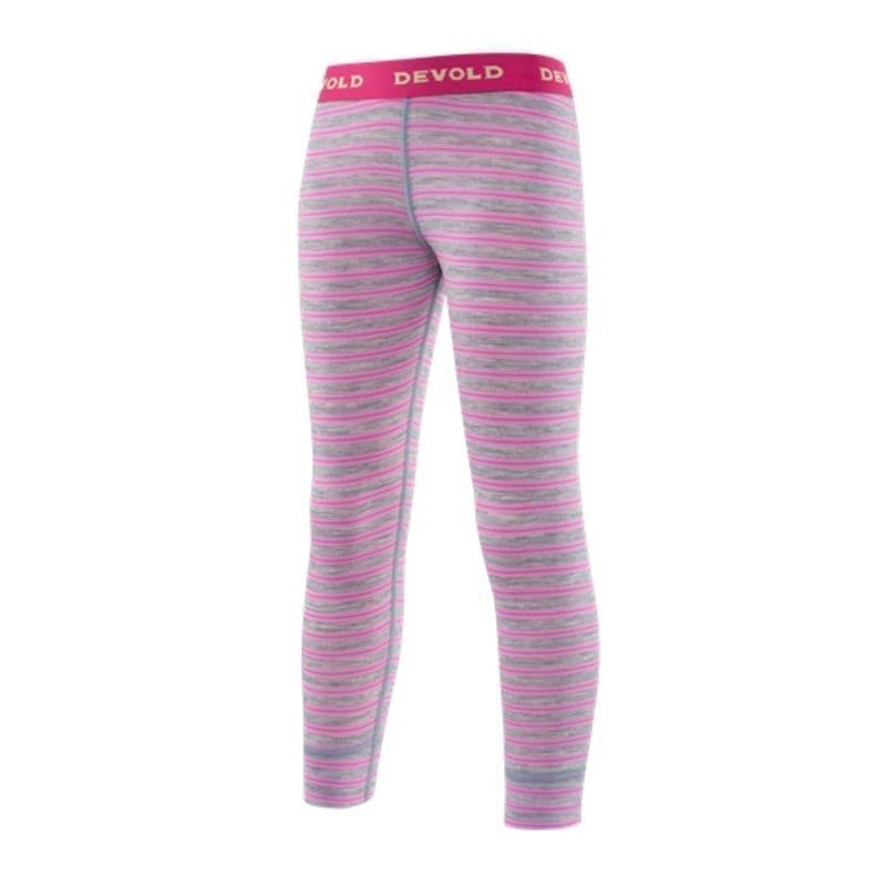 Devold Breeze Kid Long Johns 8 Peony Stripes