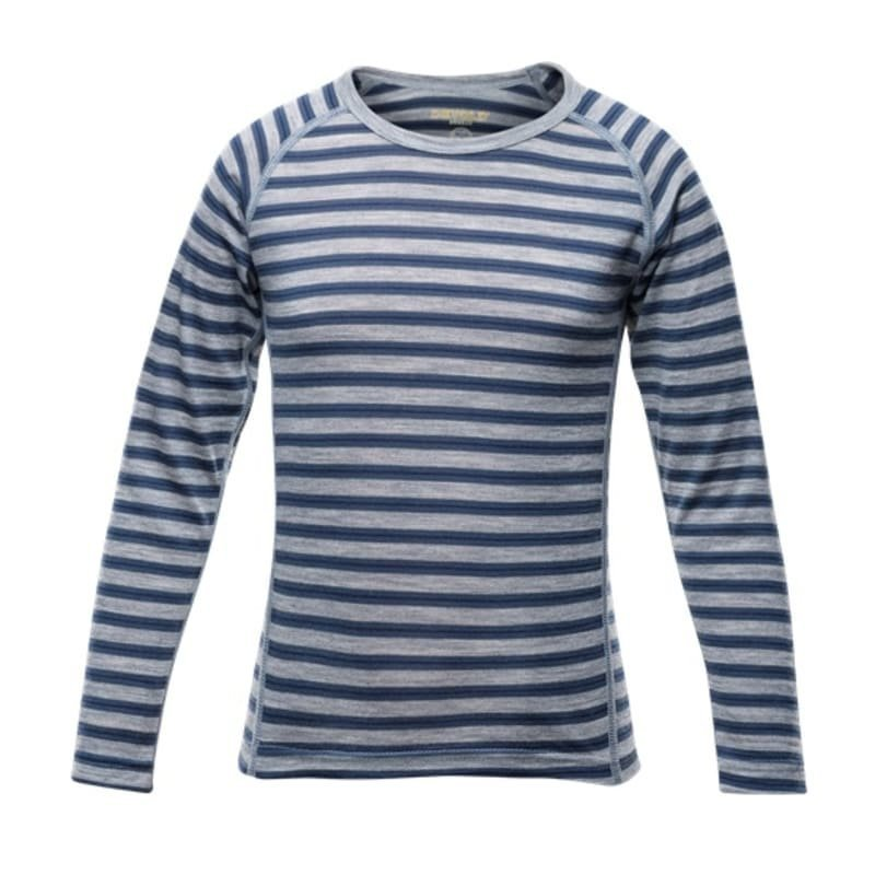 Devold Breeze Kid Shirt 6 Night Stripes