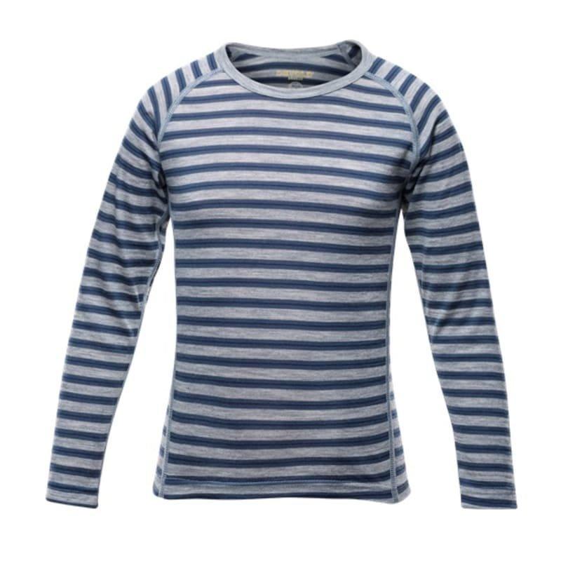 Devold Breeze Kid Shirt 6 Night Stripes