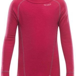 Devold Duo Active Kids Shirt Raspberry 4