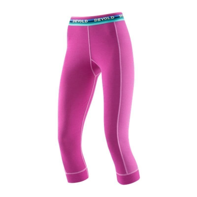Devold Hiking Woman 3/4 Long Johns XS Orchid