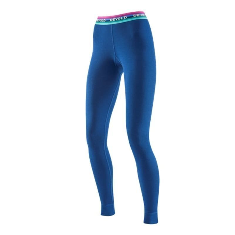 Devold Hiking Woman Long Johns S Indigo