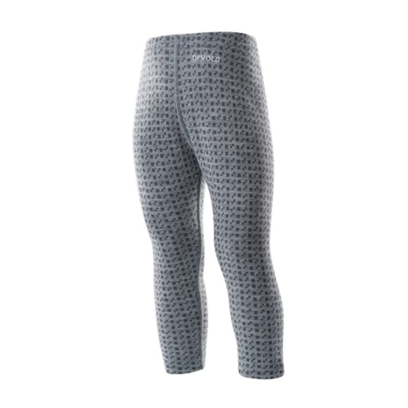 Devold Islender Baby Long Johns 92 Grey Melange