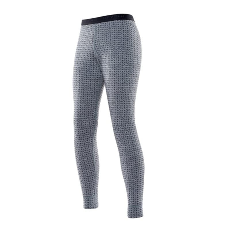 Devold Islender Junior Long Johns 10 Grey Melange