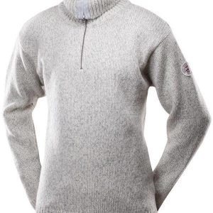 Devold Nansen Zip neck Luonnonvalkoinen XL