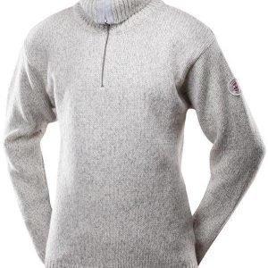 Devold Nansen Zip neck Luonnonvalkoinen XXL