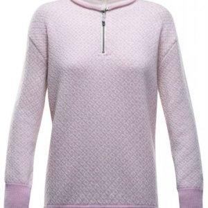 Devold Slogen Zip Neck Women's Pink XS