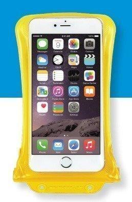 DiCAPac WP-C2 vedenpitävä suojapussi älypuhelimelle keltainen