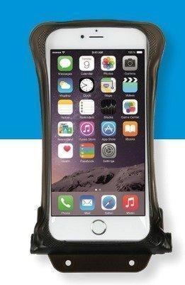 DiCAPac WP-C2 vedenpitävä suojapussi älypuhelimelle musta