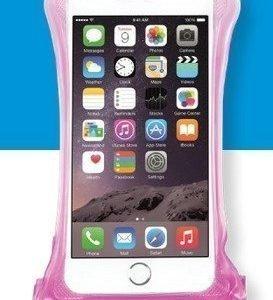 DiCAPac WP-C2 vedenpitävä suojapussi älypuhelimelle pinkki