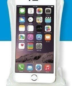 DiCAPac WP-C2 vedenpitävä suojapussi älypuhelimelle valkoinen