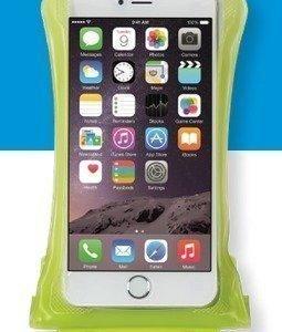 DiCAPac WP-C2 vedenpitävä suojapussi älypuhelimelle vihreä
