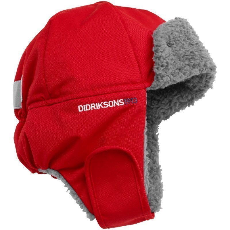 Didriksons Biggles Cap 54 Tomato Red