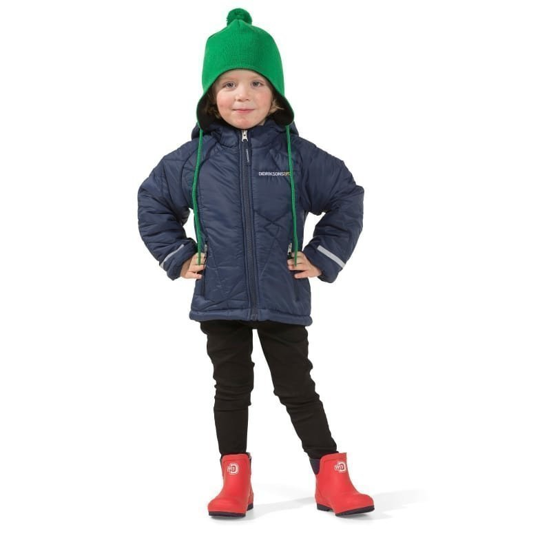 Didriksons Coddi Kids Jacket 110 Navy