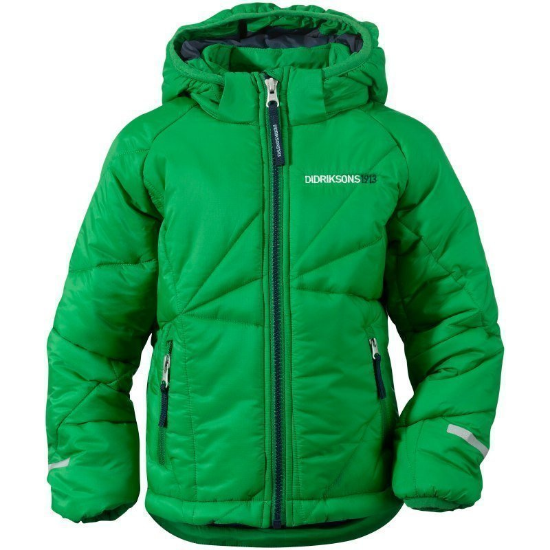 Didriksons Coddi Kids Jacket 120 Jello Green