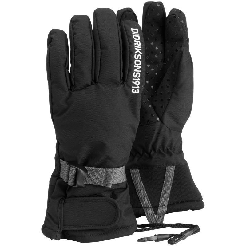 Didriksons Five Youth Gloves 7 Black