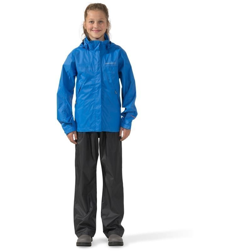 Didriksons Girl's Main Set 140 Indigo Blue