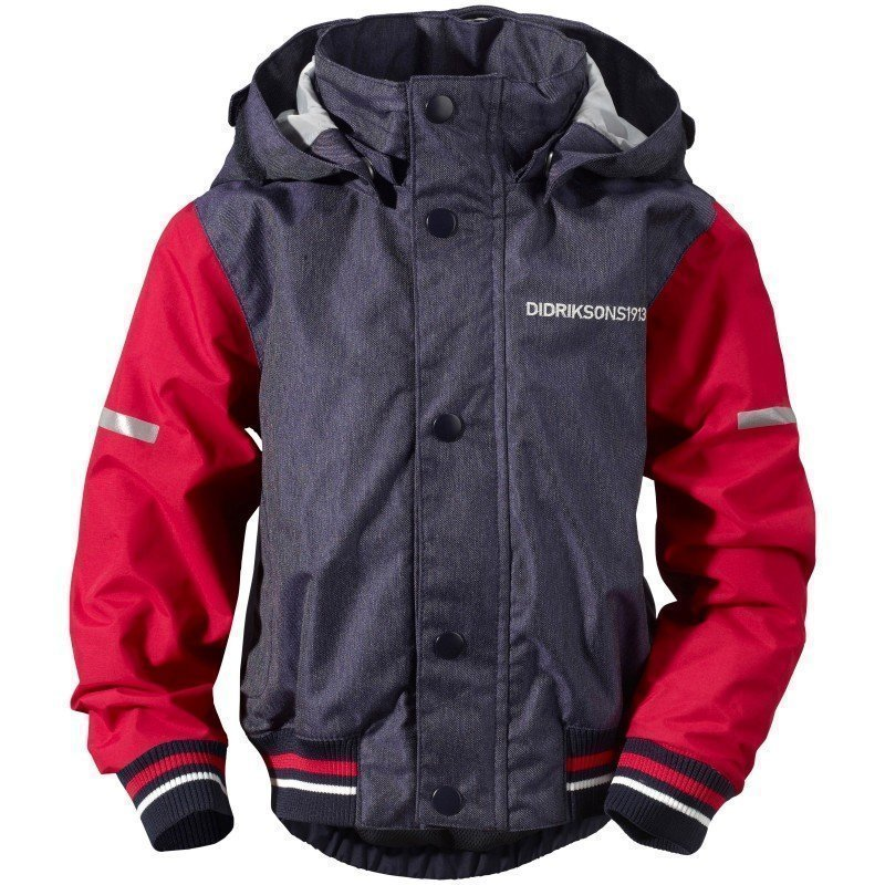 Didriksons Googana Kids Jacket 80 Flag Red