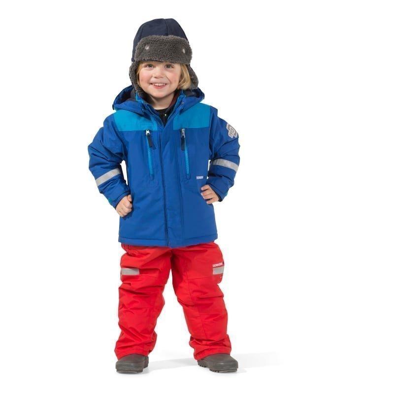 Didriksons Hamres Kid's Jacket 110 Caribbean Blue