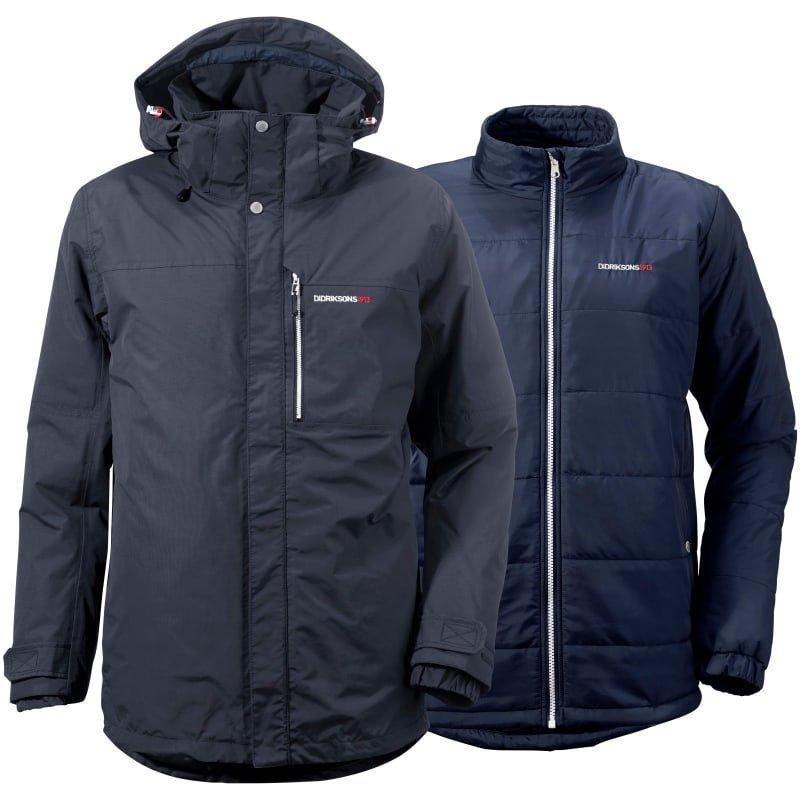 Didriksons Jule Men's Multi Jacket M Midnight Blue