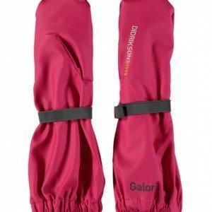 Didriksons K Rainglove Käsineet Vaaleanpunainen