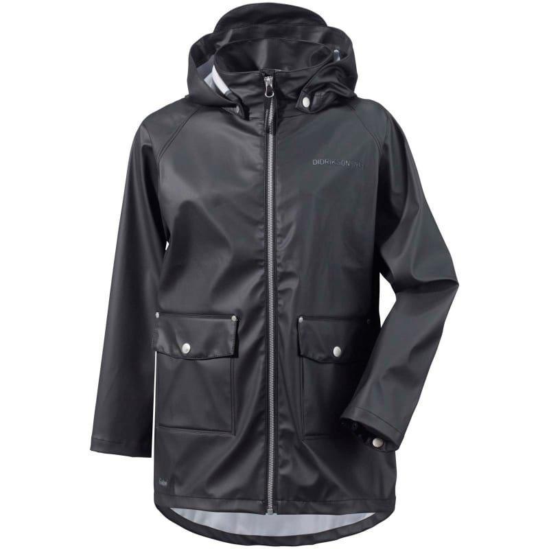 Didriksons Mick Boy's Galon Jacket 130 Black