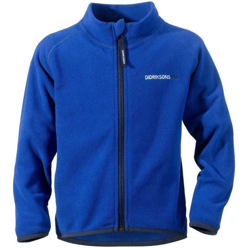 Didriksons Monte Kids Jacket 100 Caribbean Blue