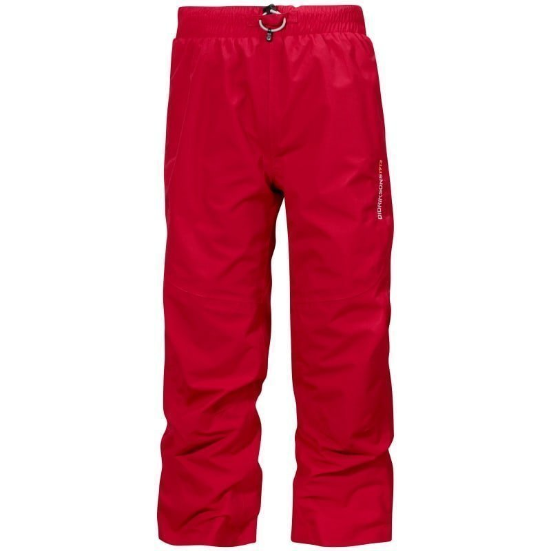 Didriksons Nobi Kids Pants 90 Flag Red