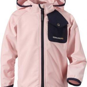 Didriksons Otego Kid's Jacket Vaaleanpunainen 110