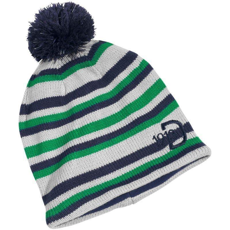 Didriksons Stripe Kids Beanie 50/52 Jello Green
