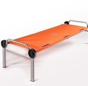 Disc Bed Orange matkasänky