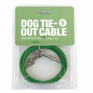 Dog tie- out cable kiinnitysvaijeri