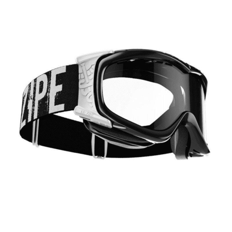 Dr.Zipe Mistress 1SIZE Shiny Black and White