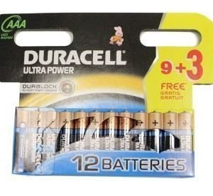 Duracell Ultra Power patterit 12xAAA