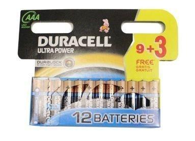 Duracell Ultra Power patterit 12xAAA