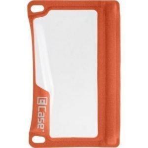 E-Case vedenpitävä suojapussi älypuhelimille oranssi